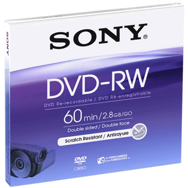 Sony DVD-RW 8cm / 60 min. DoubleSided