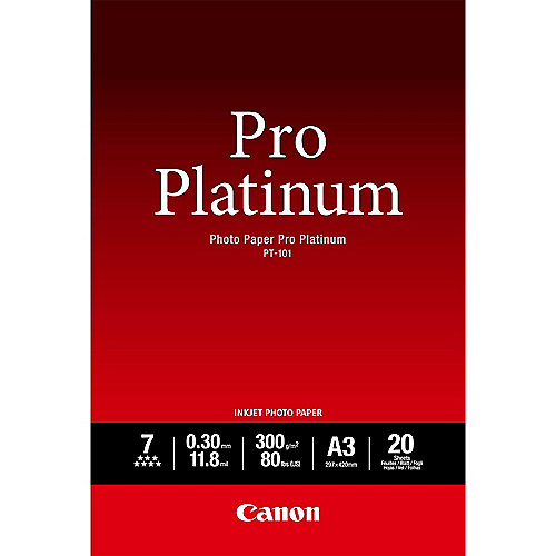 Canon PT-101 A3 Photo Paper Pro Plat.