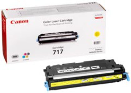 Canon 717 Tonermodul yellow