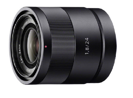 Sony E-Mount APSC 24mm F1.8 Zeiss