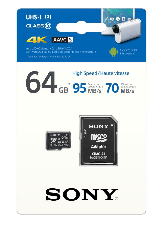 Sony MicroSDXC Expert 64GB Expert 95MB/s