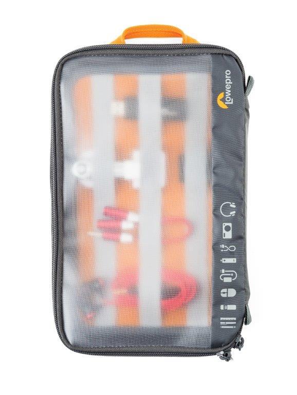 Lowepro GearUp Case Large, grau/orange