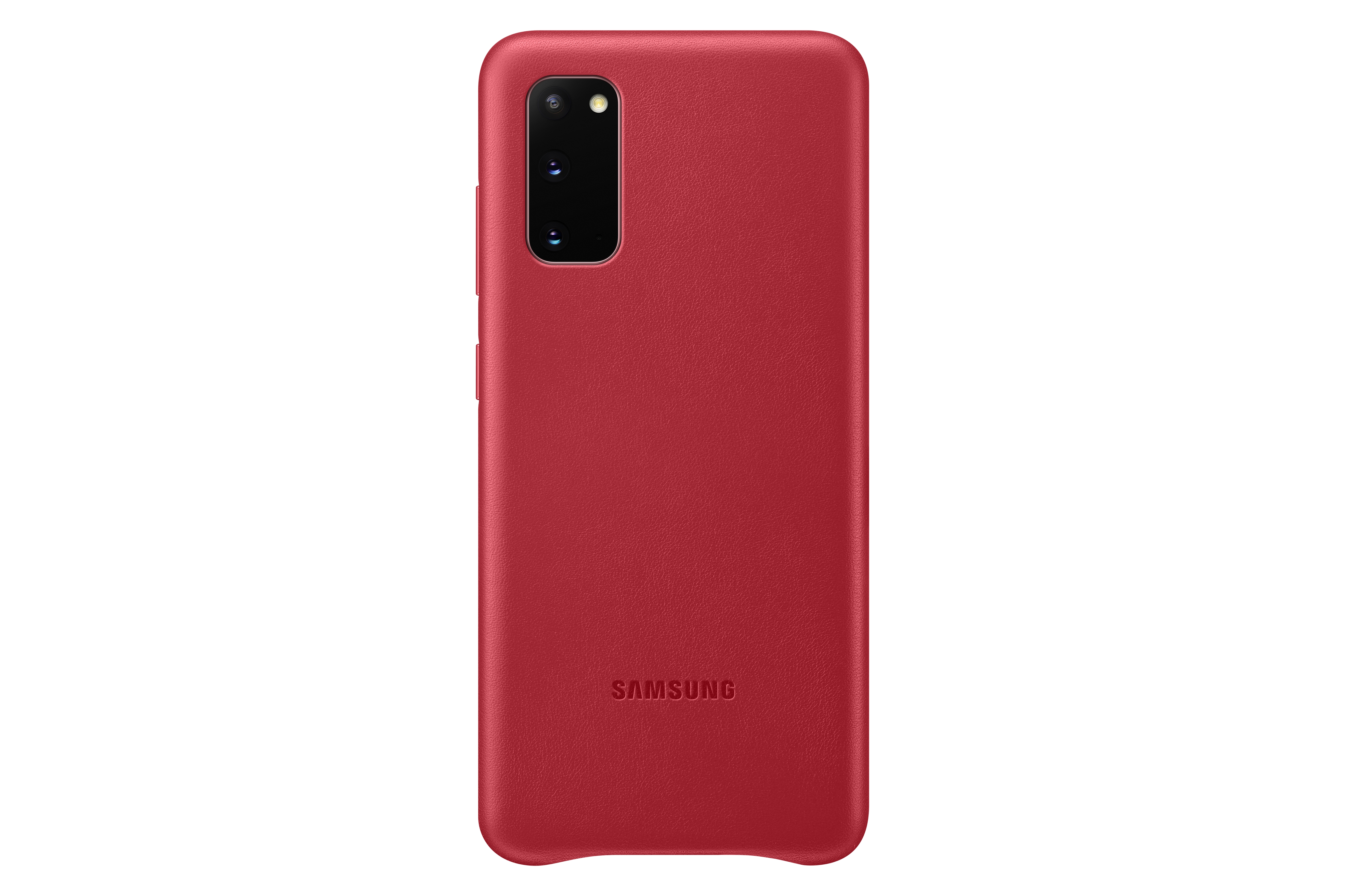 Samsung Leather Cover S20 red